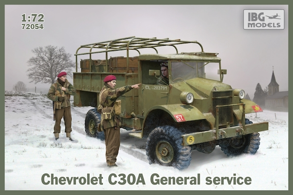 Chevrolet C15A No11 Cab, General Service (Steel Body)  72054