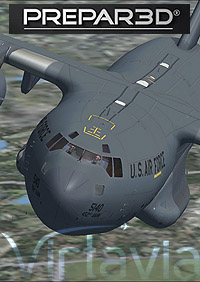 C-17A GLOBERMASTER P3D - Main Package  VIRTA-C-17A MAIN P3D