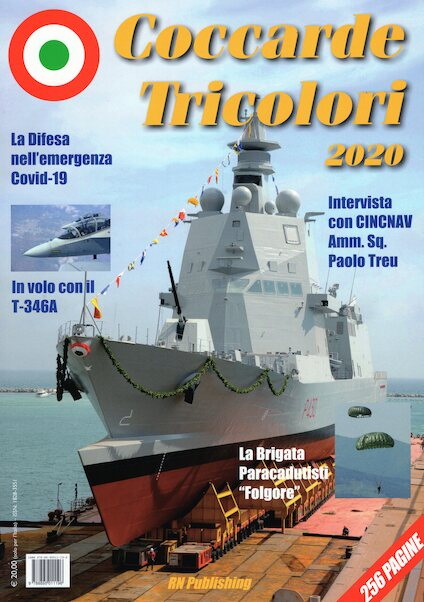 Coccarde Tricolori 2020, Yearbook of the Italian Military Forces  9788895011196