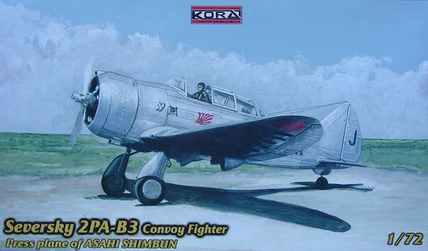 Seversky 2PA-B3 Convoy fighter, Press plane of Asahi Shimbun  72121
