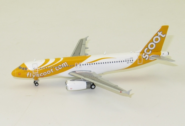 A320 (Scoot) 9V-TAZ With Antenna  XX4723