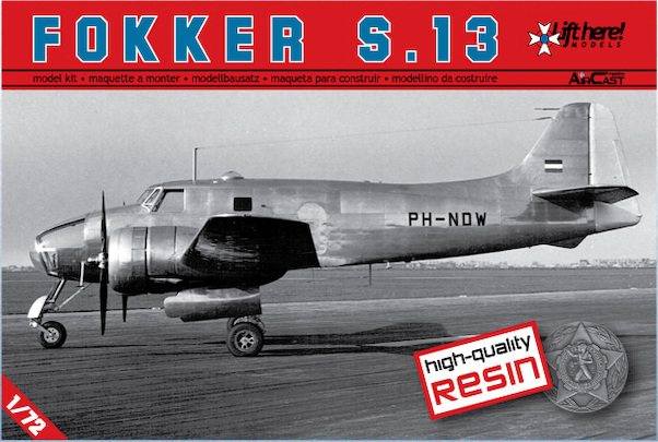 Fokker S13 (expected before the end of 2020)  LHM052