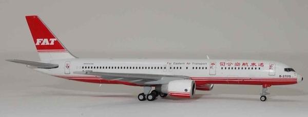 B757-200 (Far Eastern Air Transport) B-27015 With Antenna (JC Wings  EW4752002)
