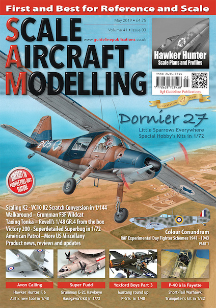 Scale Aircraft Modelling Vol.41 Issue 3 May 2019  9772631721418