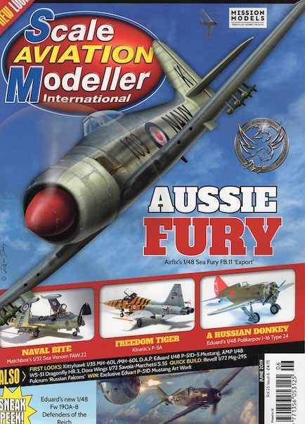 Scale Aviation Modeller Int Vol 25 Issue 6 June 2019  977135605312506