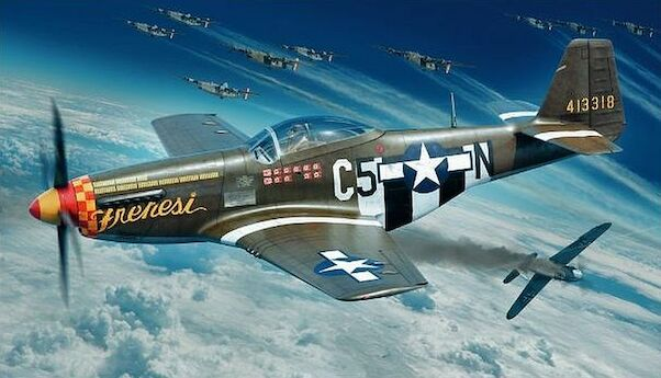 North-American P-51D-5 Mustang Profipack (Version without fin fillet)  82101