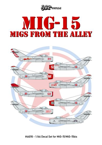 MiG15, migs from the Alley  JBR44016