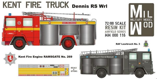 Dennis RS Wr1 Fire Truck  MM000-116