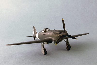 Aermacchi C.204 conversion (Italeri)  72810