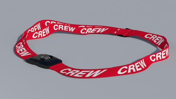 Luggage strap with TSA lock - CREW  LUG-CREW