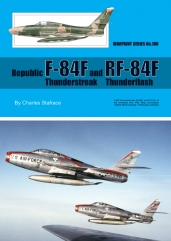Republic F-84F Thunderstreak and RF-84F Thunderflash  WS-100