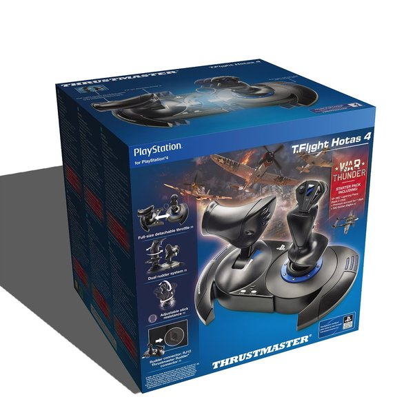 TM T-Flight Hotas 4 (PS4 and PC) (Thrustmaster 3362934110093)