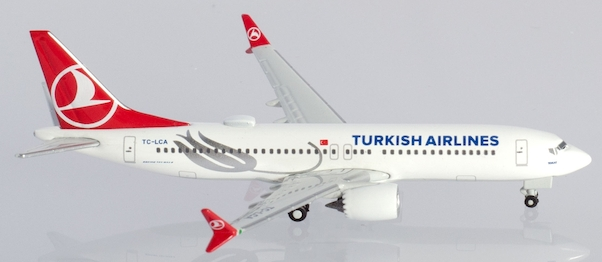 Boeing B737-8MAX Turkish Airlines