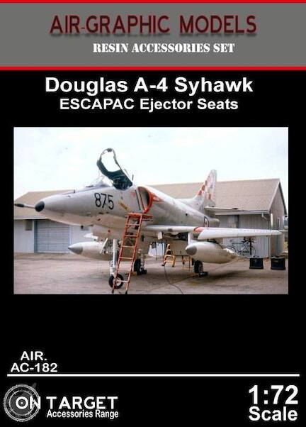 Douglas ESCAPAC ejector seat for A4 Skyhawk (2x)  AIR.AC-182