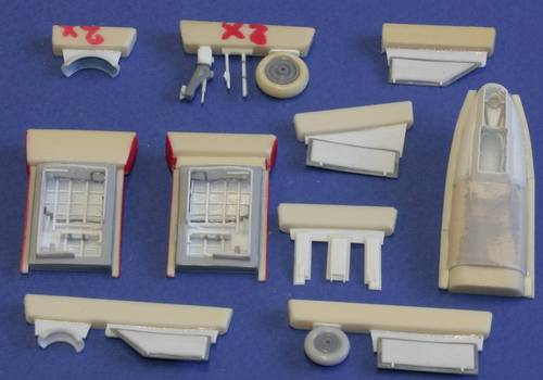 Gloster Meteor FR Mk 8/9 Undercarriage set (MPM)  CMKA7128