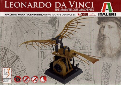 Leonardo Da Vinci Flying Machine Ornithoper  3108