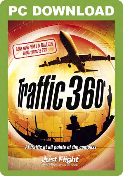 Traffic 360 (download version FSX, P3D) (Just Flight J3F000102-D)