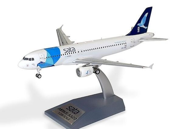 Airbus A320 SATA Fly Azores Airlines  'The Atlantic and you' CS-TKK With Stand  SATA320-01