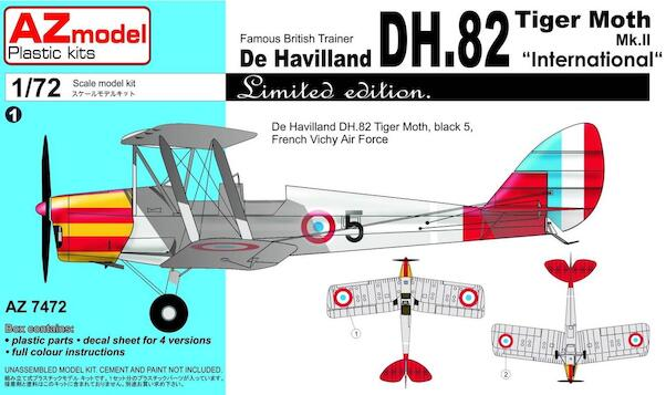 De Havilland DH82 Tiger Moth Mk.II (International)  az7472