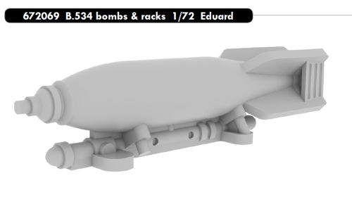 Avia B534 Bombs and racks (Eduard)  E672069