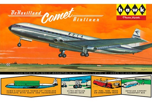 De Havilland Comet jet liner with interior  HL512/12