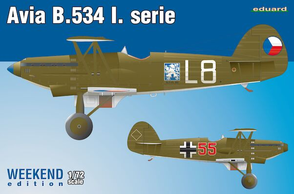 Avia B534 1th Srs - Weekend edition  7446