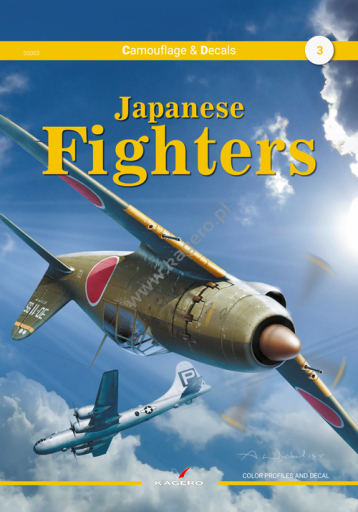 Japanese Fighters Camouflage & markings  9788366148...