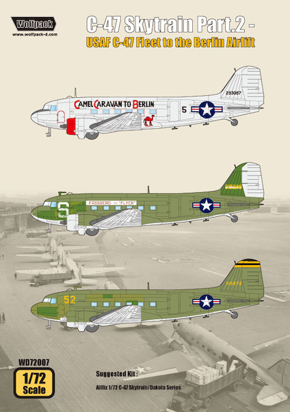 C47 Skytrain Part 2 'USAF C47 Fleet to the Berlin Airlift