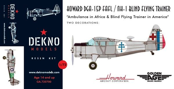 Howard DGA-15P and Howard NH-1  GA.720700