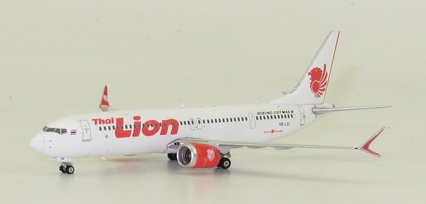 B737-8MAX (Thai Lion Air) HS-LSI  11489