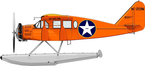 Bellanca CH-300 Pacemaker on floats (Star Air Services Anchorage, Alaska)  KIT-006