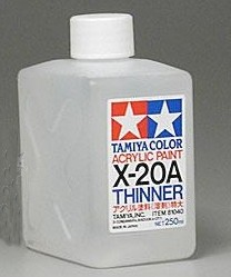 X-20A Acrylic Paint Thinner 250 ml  X-20A