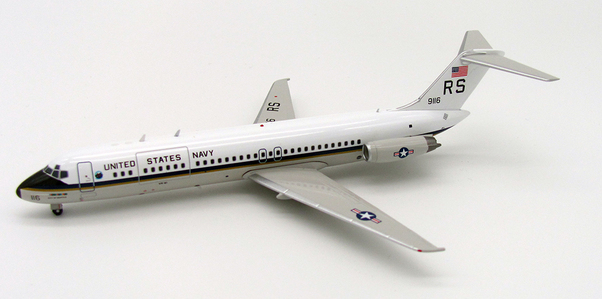 DC9-32CF C9-B (US Navy, Skytrain II) 159116 with stand  IFDC930717