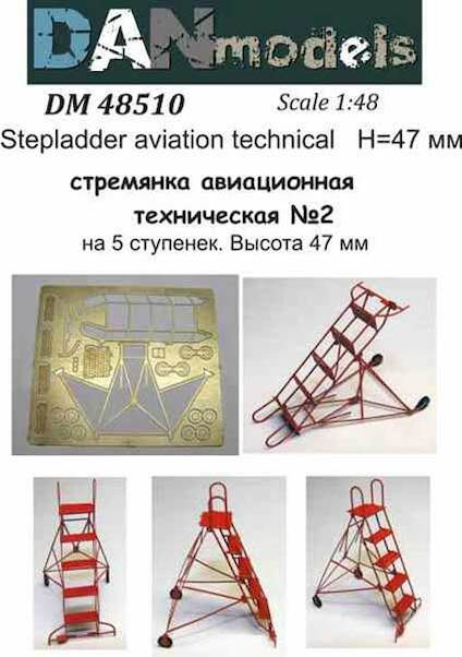 Soviet Aircraft Stepladder 5 steps  DM48510