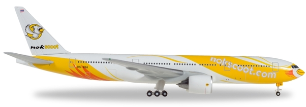 B777-200 (NokScoot) HS-XBA Herpa Wings Club Edition  530811