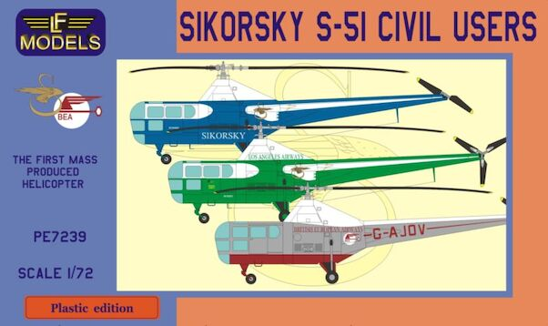 Sikorsky S-51 Civil users  PE-7239