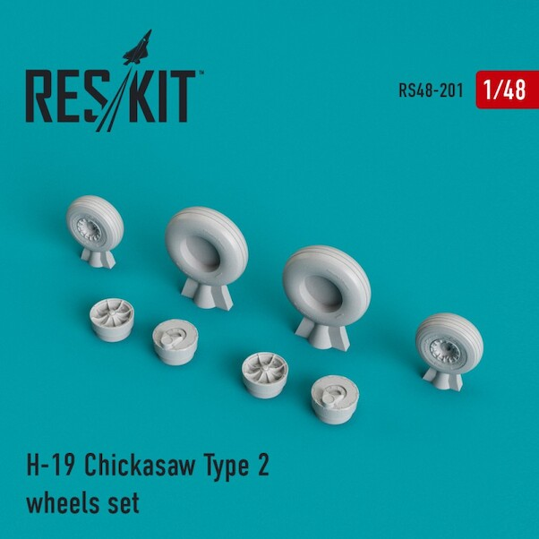 H19 Chickasaw Type 2 Wheel Set  RS48-0201