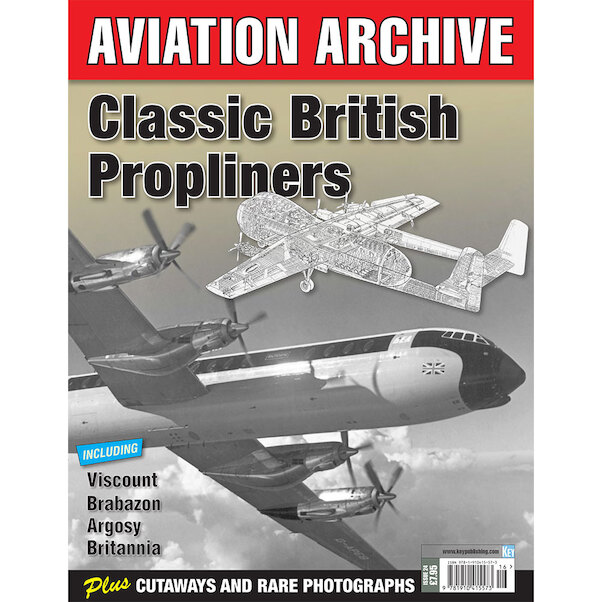 Aviation Archive - Classic British Propliners  9781910415573