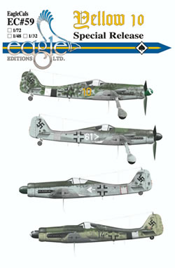 Focke Wulf FW190D-9 (Yellow 10 and friends)  EGD4859