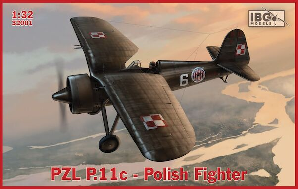 PZL.P11C Fighter (EXPECTED MARCH 2020)  32001