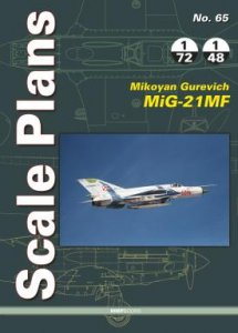 Scale Plans: Mikoyan Mig21MF  9788366549074