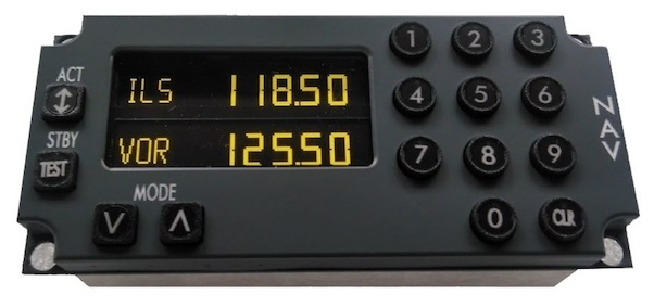 B737 Multi Mode NAV Control Panel  M_M_NAV737