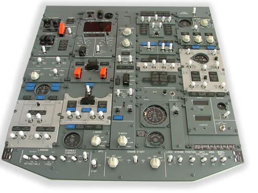 B737 Forward Overhead Panel kit (Engravity 737910910FOVH)