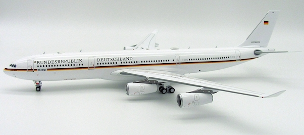 LUFTWAFFE German Air Force Airbus A340-300 Aircraft Model 1:500 Scale Herpa