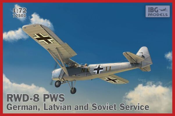 RWD-8 PWS - German, Latvian and Soviet service  72503