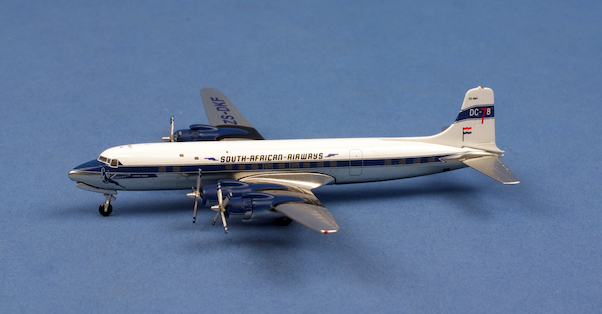 Douglas DC7 South African ZS-DKF  AC419845