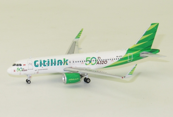 A320neo (Citilink 50th) PK-GTF  11427