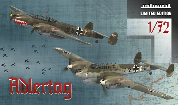 Adlertag: BF110C/D in the Battle of Britain (Limited Edition)  2132