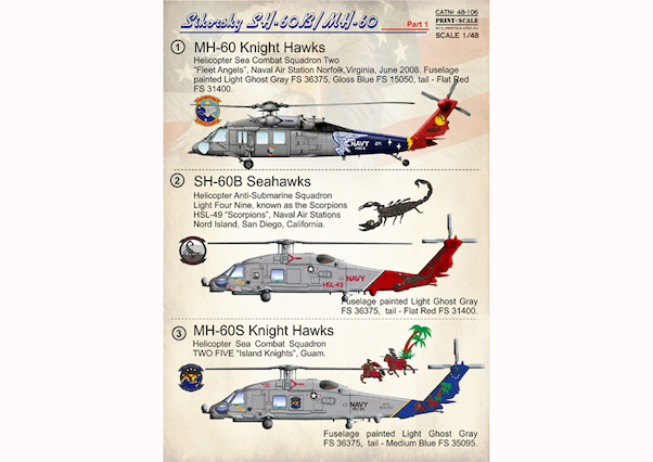 Sikorsky SH60B/MH60 Part 1  PRS48-106