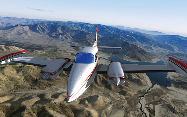 Cessna C310R Redux (Download Version) (Military Visualization 148702-D)